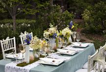 Spring Weddings / A collection of spring wedding themes and photos.