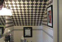 Cuarto de bañoSmall bathrooms under stairs
