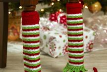 Elf table leg covers