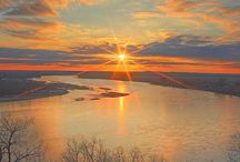 Daytime: Sunset