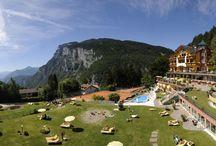 Alp & Wellness Sport Hotel Panorama **** / Ein magisches Panorama wird Ihren Urlaub im Alp & Wellness Sport Hotel Panorama in Fai della Paganella stets begleiten – ergänzt durch Wellness- und Sportoasen, sowie einer erstklassigen Küche!
