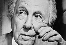 Frank Lloyd Wright / Frank Lloyd Wright (1867-1959) was an American architect who, in 1991, was recognised by the American Institute of Architecture as 'the greatest American architect of all time', while his project Fallingwater (1935) has been dubbed 'the best all-time work of American architecture'  Here we celebrate his work