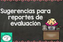 para evaluaciones