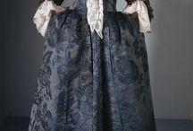 Clothes : 1700s