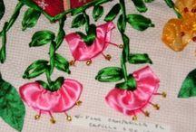 ribbon embroidery / by Olivia De Mijares