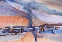my own watercolor paintings / watercolor paintings