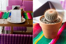 Desert Decor  / Stylish Southwestern touches to bring a bit of the desert to your wedding.