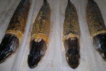 Фаршированная рыба / Несладкие вкусняхи: фаршированная щука,