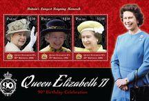 Stamps Queen Elizabeth II