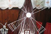 Růžena - papírové pletení / moje pletení