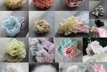 Moños y flores
