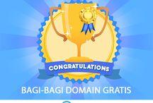 Niagahoster Bagi-bagi Domain Gratis / Bagi-bagi domain gratis .co.id dan .web.id bisa di ikuti oleh siapa saja. Info detail : https://www.niagahoster.co.id/domain-gratis
