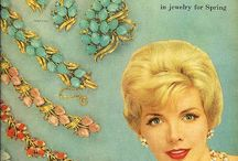 Vintage Jewelry / Vintage jewelry and jewelry advertisements  / by Rexanna Calentine