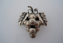 Sterling Silver Brooch And Pin / Silver jewelry, vintage to modern brooches and pins