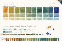 Art_palettes et combinaisons des couleurs