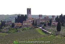 Badia a Passignano / Badia is one of the pearl of Tavarnelle district. The abbey on the top of a hill is one of the most important monuments of Tavarnelle.