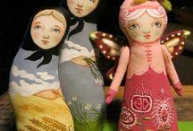 Malované panenky