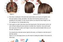ângulos de corte de cabelo