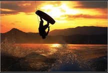 Wakeboarding things / Wakeboarding is about big tricks, big hits, self expression and adrenaline rushes. sometimes it makes for a good photo too