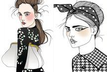 a-Fashion Illustrations / by Kristel Voolaid