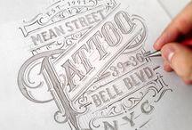 caligraphic