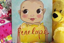 Custom Children's Portraits.
