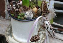 Tavaszi,húsvéti dekor