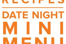 Date Night Mini Menu April 2015 / by Once A Month Meals