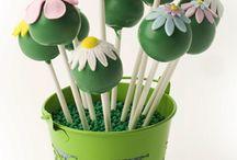 Cake pops & balls / Ienie mienie keekjes