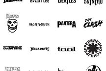 Rock band logos/albums
