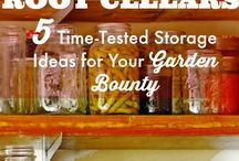 Food Preservation / Fermenting, brining, canning, freezing, drying, root cellars