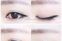 Занятия по  использованию азиатского макияжа