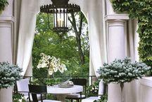 covered porch or verandah