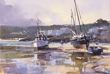 Ray Balkwill / This is another artist who taught courses for us at Brushstrokes - a lovely person and a good and caring teacher