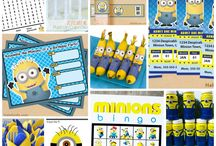 Minion b Day party