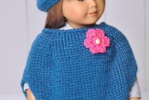 Poncho for dolls pattern