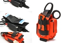Equipment for rescuers, first aid and survival