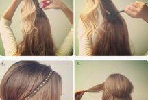 Hair / Hair ideas and up-dos
