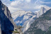 Parc de Yosemite en Californie / Photos du Parc national de Yosemite dans l'ouest des Etats-Unis.