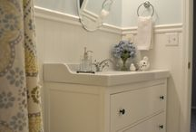 Bathroom Dreams and Ideas / Ideas for creating my new bathroom / by Annette Gibson