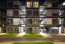 コンテナハウス 集合住宅 / 集合住宅用のコンテナハウス。