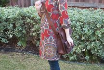 In the Closet: Eclectic Chic / Interesting clothing, pattern, and/or color mixes / by {Living Outside the Stacks}