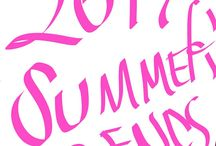 #2017 summer trends# ¥¥¥¥¥