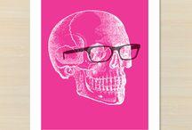 P&H Skull prints