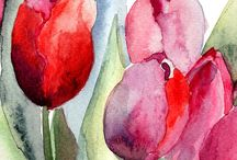Watercolor / For inspiration... the most beautiful watercolor paintings...