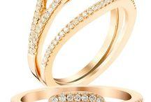 Chocolate Diamonds and Morganite / Hot, Hot, Hot this season!