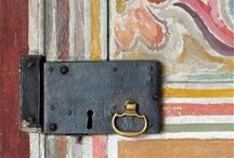 doors - keys - doorbells / If opportunity doesn't knock, build a door. -Milton Berle   / by Donatella De Finis