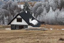 Acoperis Decra Stratos la munte / O casă de 100 de ani, de la munte, a primit o altă viață! Și acoperiș cu țigla metalică Decra Stratos. Deci cel puțin încă 100 de ani. Vă place? :) www.decra.ro