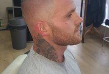 Skinhead hair style