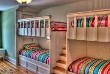 CHILDREN AND KIDS ROOMS / The children or kids should have the cutest rooms in the house. These are collection of inspirational ideas for designing children rooms.